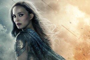 Natalie Portman In Thor Movie Wallpaper
