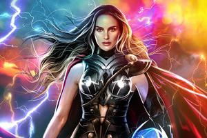 Natalie Portman Lady Thor 4k