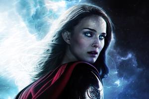 Natalie Portman Thor Lady Jane Foster Wallpaper