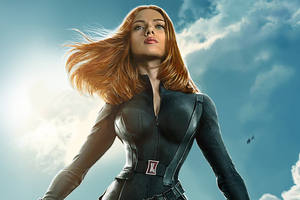 Natasha Romanoff Black Widow 4k Art