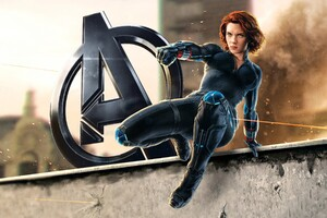 Natasha Romanoff Black Widow Wallpaper