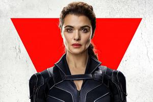 Natasha Romanoff In Black Widow Movie Poster 8k Wallpaper
