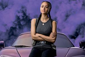 Nathalie Emmanuel As Ramsey In Fast 9 8k Wallpaper