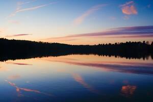 Nature Lake Reflections