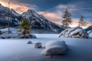 Nature Landscape Winter Snow