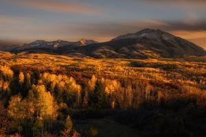 Nature Mountains Autumn Wallpaper