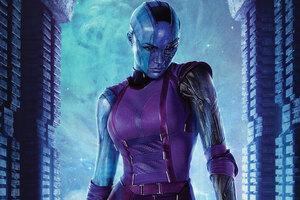 Nebula Guardians Of The Galaxy Vol 2 4k Wallpaper