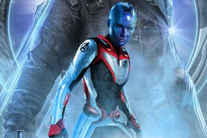 Nebula In Avengers Endgame 2019
