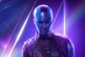Nebula In Avengers Infinity War New Poster