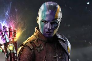 Nebula Infinity Gauntlet