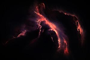 Nebula Scenery Cosmos 4k