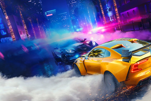 Need For Speed Heat Wallpaper