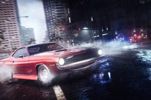 Need For Speed Heat Drift Classic Car 4k Wallpaper