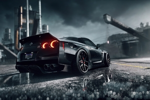 Need For Speed Heat Nissan Gtr 4k Wallpaper