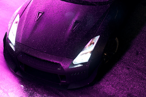 Need For Speed Nissan Gtr 8k