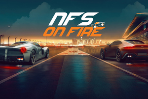Need For Speed On Fire 5k Wallpaper