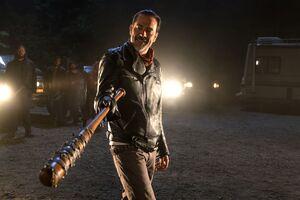 Negan The Walking Dead Season 7 Wallpaper