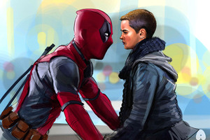 Negasonic Teenage Warhead And Deadpool