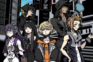 Neo The World Ends With You 2021 4k Wallpaper