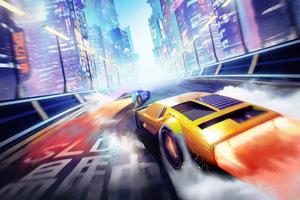 Neo Tokyo Cyber Cars 5k Wallpaper