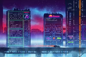 Neon Driven 4k