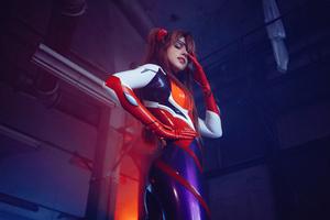 Neon Genesis Evangelion Asuka Langley Cosplay Wallpaper