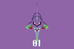 Neon Genesis Evangelion Initial Machine 01 Wallpaper