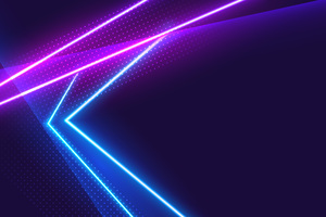 Neon Light Grafitti 5k Wallpaper