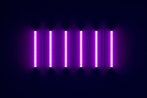 Neon Lights Purple