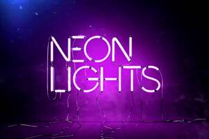 Neon Lights Wallpaper
