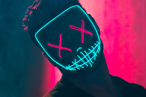 Neon Mask Guy
