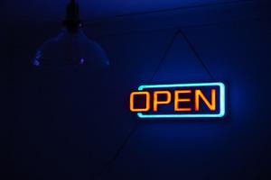 Neon Open Sign Board