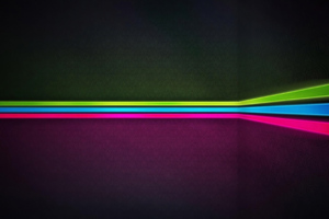 Neon Stripes Wall 4k