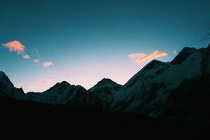 Nepal Mountains 4k