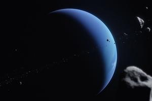Neptune Planet Space 5k Wallpaper