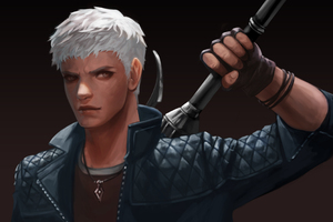 Nero Devil May Cry 5 2019 4k Art
