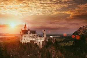 Neuschwanstein Castle 4k Wallpaper