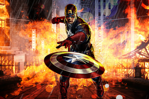 New Art Captain America