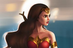 New Art WonderWoman Wallpaper