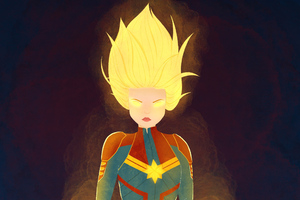 New Artwork Captain Marvel