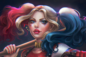 New Artwork Of Harley Quinn