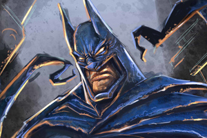 New Batman Paint Art