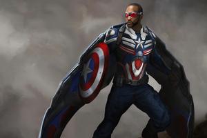 New Captain America Wallpaper