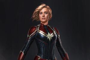 New Captain Marvel Concept Art