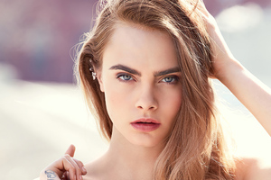 New Cara Delevingne 2020 Wallpaper
