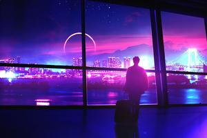 New City Lights 4k Wallpaper