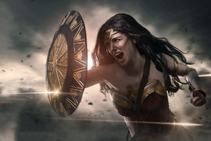 New Cosplay Of Wonder Woman Wallpaper