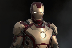 New Iron Man Art