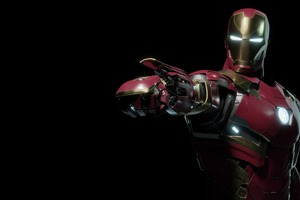 New Iron Man Cgi 4k