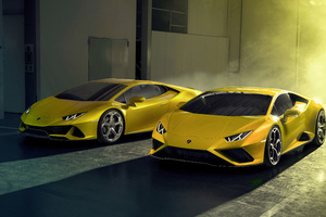 New Lamborghini Huracan EVO RWD 2020 Wallpaper